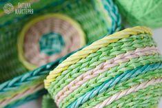Видео мастер-класс: красим трубочки для плетения из бумаги - Ярмарка Мастеров…