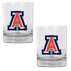 Arizona Wildcats 14oz. Rocks Glass Set - $29.99