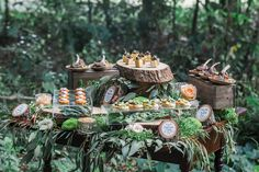 Escape into an enchanted woodland wedding styled shoot that will have youfalling in love with a rustic, organic, woodland and whimsical fairytale day.