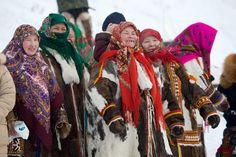Khanty Women, Yamal, Western Siberia