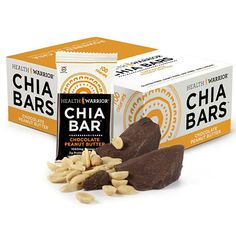Best Nutrition and Energy Bars For Every Adventure | Sweet Tooth: Health Warrior Chocolate Peanut Butter Chia Bars