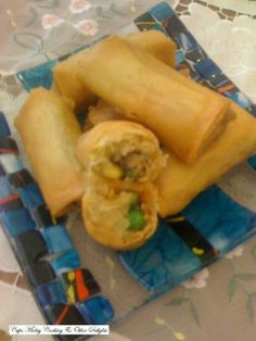 Cape Malay Cooking & Other Delights Fried Spring Rolls, Fresh Rolls, Food To Make, Stuffed Peppers, Asian, Vegetables, Cooking, Ethnic Recipes, Islands