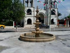 Hermosa fuente en la Plaza De mi Pueblo El Realito Tamailipas #loAmo