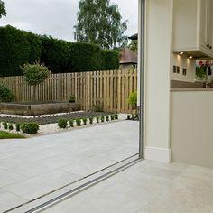 Kitchen Design in Harrogate and Leeds Outside Flooring, Outdoor Flooring, Kitchen Gallery, Inside Outside, Bespoke Kitchens, Home Reno, Kitchen Flooring, Kitchen Design, Kitchen Ideas