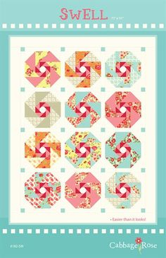 Swell Pieced Quilt - Printed Pattern – Cabbage Rose