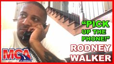 MCA RODNEY WALKER - DON'T ANSWER THE PHONE??? http://youtu.be/LFLfNyxt6b0 MCA RODNEY WALKER - DON'T ANSWER THE PHONE???  JOIN MCA  http://ift.tt/2aNCJQn  CALL MY OFFICE  (800) 796-7710 EXT. 213 Do not be discouraged to try new things. If you're following