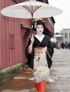 芸妓さんと舞妓さんのブログ (kagai-no-sekai:  Shichiha debuts in Higashi...)