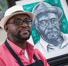 Little Rock artist Rex Deloney