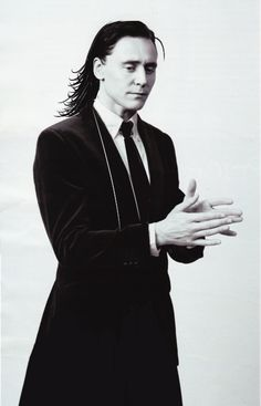 Loki -- Ermagursh, look at those hands, and again with the stray lock..