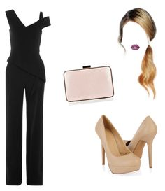 """""""Jumpsuit"""" by evakibeautiful on Polyvore featuring Roland Mouret, Forever 21, Lime Crime and Coccinelle"""