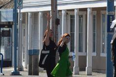 Emilie De Ravin and Lana Parilla - Behind the scenes- 5 * 5 - 21 August 2015