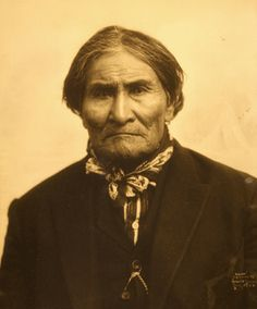 1904 World's Fair, Geronimo, Apache Chief, photo by Gerhard sisters