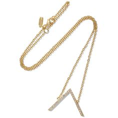 Elizabeth and James Edo gold-plated topaz necklace ($88) ❤ liked on Polyvore featuring jewelry, necklaces, metallic, elizabeth and james. necklace, elizabeth and james jewelry, gold plated necklace, topaz necklace and metallic jewelry