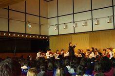 Concerto da AMAC nos Mini Dias da Música no CCB, que teve lugar na Sala Luís de Freitas Branco, no dia 22 de abril de 2016. Foto da Orquestra Juvenil dirigida por Alexandre Delgado.