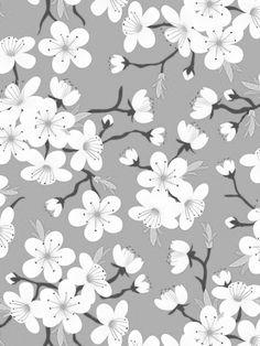 Desktop Wallpaper Simple, Cellphone Wallpaper, Wallpaper Backgrounds, Wallpapers, Fabric Patterns, Flower Patterns, Oriental Print, Sketchbook Project, Pretty Patterns