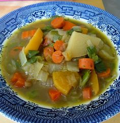 Nourishing Root Vegetable Soup {Trim Healthy Mama, GAPS, Paleo, SCD, Grain Free, Dairy Free} | Counting All Joy