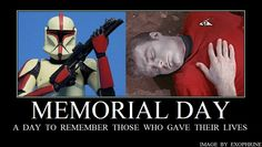 This Memorial Day, let's all remember those who selflessly give their lives to a higher cause...