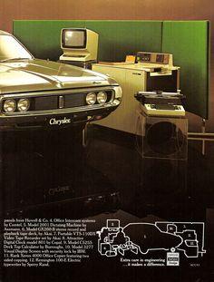 1973 CJ Chrysler By Chrysler - Aussie Original Magazine Advertisement Cadillac, Chrysler Valiant, Plymouth Valiant, Australian Cars, Chrysler Cars, Tape Recorder, Digital Clocks, Advertising Poster, Old Cars