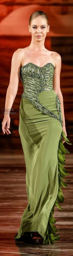 Awesome Evening dresses Toufic Hatab Fall-winter 2014-2015.... Check more at https://24myshop.tk/my-desires/evening-dresses-toufic-hatab-fall-winter-2014-2015/