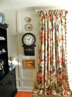 floral curtains and drapes love the floral drapes vintage floral curtain panels