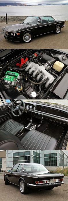 1972 BMW 3.0 CSI #bmwclassiccars