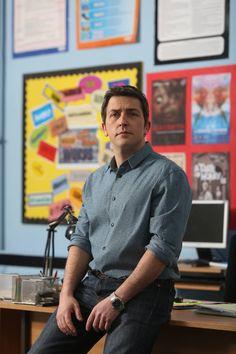 There's a teacher like him everywhere! Ackley Bridge, Waterloo Road, Road Pictures, Bbc, Tv Shows, Films, British, Teacher, Random