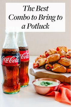 The Best Combo to Bring to a Potluck. Here's why Coca-Cola is an essential for potluck dinners. Gourmet Recipes, Soup Recipes, Party Recipes, Mexican Street Food, Potluck Dinner, Cooking On A Budget, Healthy Breakfast Recipes, International Recipes, Coca Cola