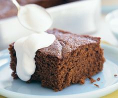 Old-Fashioned Gingerbread Recipe. Make in a loaf pan and drizzle w/ maple cream glaze.