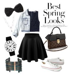 """""""#15"""" by emmyhorne on Polyvore featuring H&M, Rosendahl, Alice + Olivia, Hollister Co., Converse and Boutique+"""