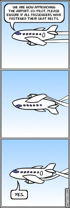 Landing Preparations