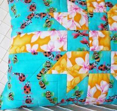 (7) Name: 'Quilting : GIFT WRAP PILLOWS