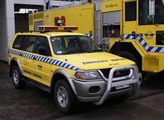 ✿Auckland International Airport Emergency Response, 2002 Mitsubishi Challenger✿