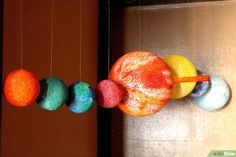 How to Make a Solar System Mobile: 15 Steps (with Pictures)