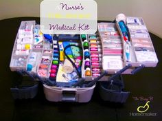 "A Nurse's Fully Stocked Medical Kit -- In my experience, when it comes to first aid kits, people are in one of two categories: ""What first aid kit?"" They have to run to the store for … Continue Reading → Homestead Survival, Survival Prepping, Survival Skills, Survival Supplies, Survival Gear, Survival Hacks, Nursing Survival Kit, Survival Clothing, College Survival"