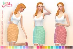 Sims 4 CC's - The Best: Dress by Sim for a Dream