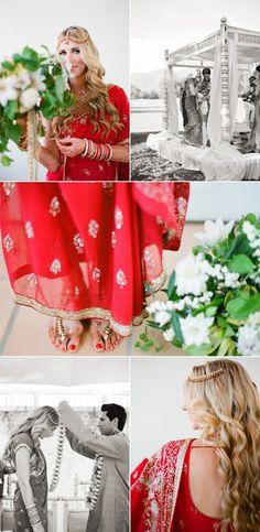 Indian Wedding Couple, Wedding Couples, Indian American Weddings, Hindu Bride, Multicultural Wedding, Catholic Wedding, Hindu Weddings, Indian Weddings, Dream Wedding