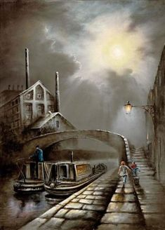 View and buy the latest artwork from Bob Barker. We have a large collection of Bob Barker artwork. Black Country Living Museum, Building Painting, Painting Tips, Nostalgic Art, Perspective Art, Train Art, Cool Art Drawings, Landscape Art, Landscape Paintings