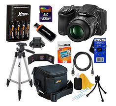 Hurry over here and enter to win aNikon CoolPix L830 Digital Camera Kit Giveaway. This kit includes: - Nikon CoolPix L830 16 MP CMOS Digital Camera - 34x Zoom Nikkor Lens, Full 1080p HD Vid...