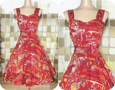 Vintage 50s AMAZING Royal Hawaiian Sweetheart by IntrigueU4Ever