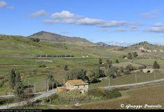 Ferrovie dello Stato (FS) Ale 501 Minuetto E at Roccapalumba - Alia, Italy by Giuseppe Pastorello