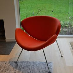 Orange Slice van Artifort Pierre Paulin, Orange Slices, Egg Chair, Lounge, Doors, Furniture, Design, Home Decor, Airport Lounge
