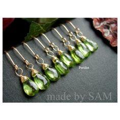 Peridot gemstone earrings http://madebysam.ca/catalogsearch/result/index/?p=4=earrings%27