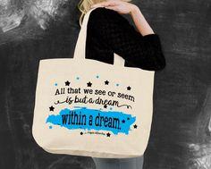 A Dream Within a Dream Tote Bag