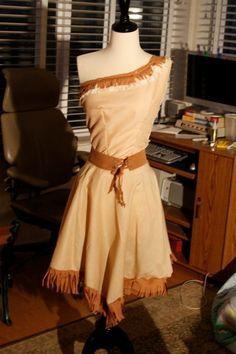 Cool Homemade Pocahontas Costume