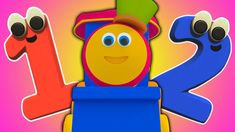 Bob le train   Chanson de Numbers   apprendre les chiffres   3D Rhymes  ... French Numbers, Tech Logos, Singing, Train, Learning, Studying, Teaching, Strollers, Onderwijs