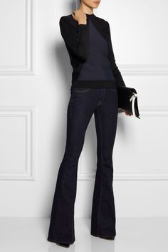 Love this outfit! Style Désinvolte Chic, Look Chic, Mode Style, Style Icons, Classic Style, Casual Chic, Sporty Chic, Look Fashion, Fashion Outfits