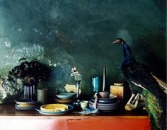 the Frequent Peacock: Full Taxidermy