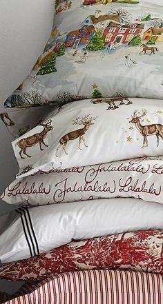 Christmas Bedding Sheets & Duvet Covers