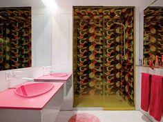 Hot Pink Bathroom Decor