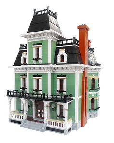 Victorian House WIP (Front Left View) | by flailx